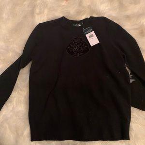 NWT Ralph Lauren wool blend sweater xl